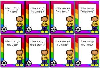 Fabulous  Futebol! Language & Literacy Game