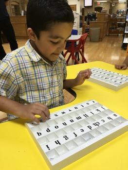Fabulous Little Alphabet Tray