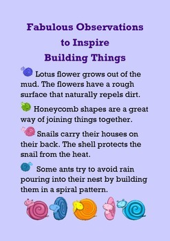 Fabulous Observations to Inspire Building Things