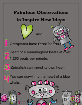 Fabulous Observations to Inspire New Ideas  - Love and Robots