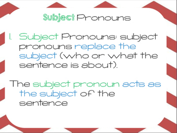 Fabulous Pronouns Presentation