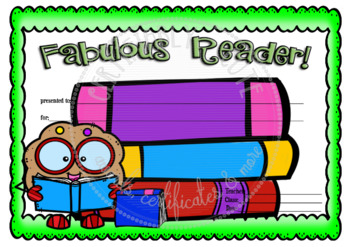 Fabulous Reader Cookie