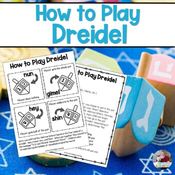 Hanukkah:  How to Play Dreidel