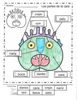 """Face """"Horrible monstruo verde"""" Set"""