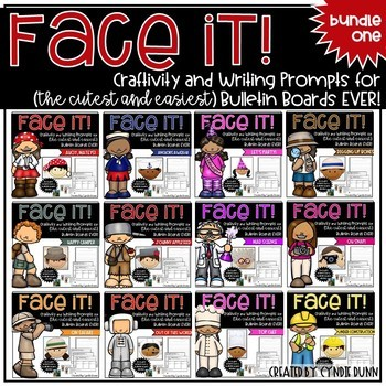 Face It! Bulletin Boards Bundle One