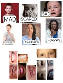 Face Magnets -- Emotions & Expressions
