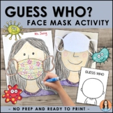Face Mask Craft Activity | Back to School Social Distancing