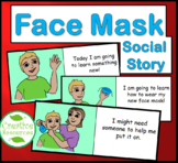 Face Mask Social Story for Special Education Life Skills S