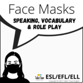 Face Mask Vocabulary & Speaking Activity, Role Play for En