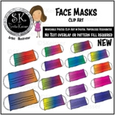 Face Masks Moveable Pieces Clip Art, Health, Digital Use