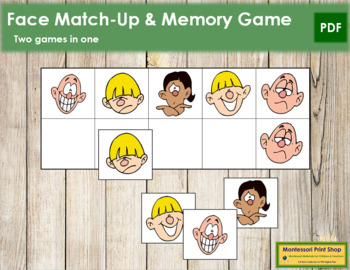 Face Match-Up and Memory
