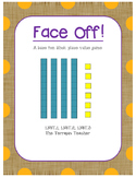 Face Off, Base Ten Blocks Edition