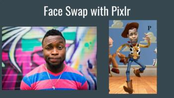 Face Swap with Pixlr