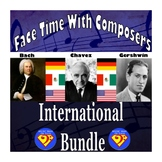 Face Time With Composers: International Bundle (Bach/Cháve
