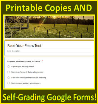 Face Your Fears 6th Grade HMH Collections - HRW - Interactive Notebooks and Test