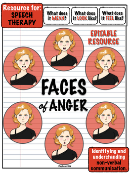 Faces of Anger - Redhead