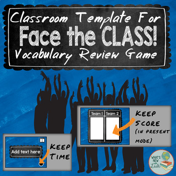 Face the Class! Review Game for Any Subject