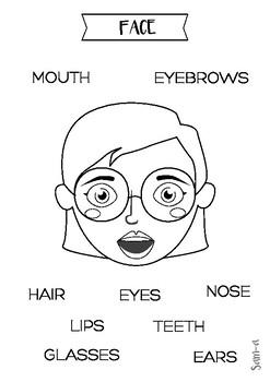 Face vocabulary