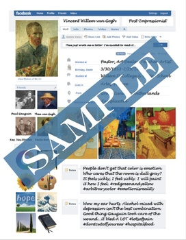 Facebook Artist, Fun Art History Research and Studio Extension