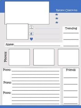 Facebook, Blog, and Texting Screen Templates