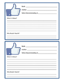 Facebook Book Recommendation Form