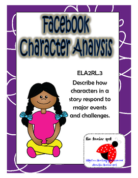 Facebook Character Analysis (Character Reactions)