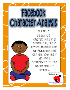Facebook Character Analysis (Character Traits)