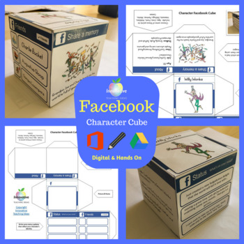 Facebook Character Cube - Great Versatile Activity