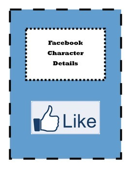 Facebook Character Page