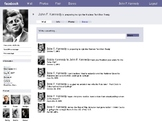 Facebook Template - Character Page - Fake Facebook Page template