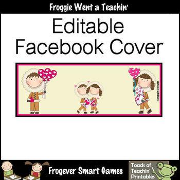 Facebook Covers-Profile Pictures--Eskimo Kisses (Editable)