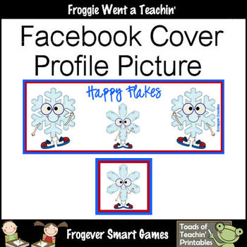 Facebook Covers-Profile Pictures--Happy Flakes (Not Editable)