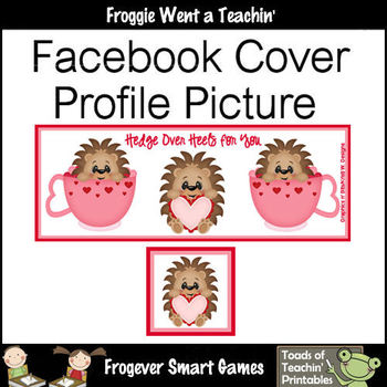 Facebook Covers-Profile Pictures--Hedge Over Heels for You (Not Editable)