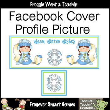 Facebook Covers-Profile Pictures--Warm Winter Wishes (Not Editable)