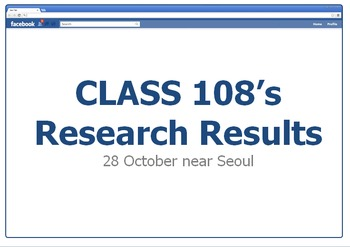 Facebook Discussion Class (English Conversation) - Research Cover Page