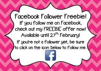 Facebook Follower FREEBIE!