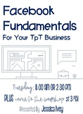 Facebook Fundamentals for Your TpT Business