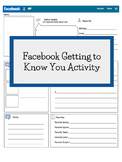 Facebook Getting to Know You Activity - Editable Version