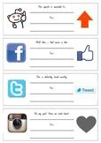 Facebook, Instagram, Pinterest, Twitter & More Award Certi