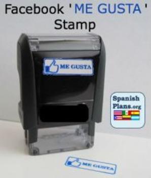 Facebook Me Gusta Self Inking Stamp