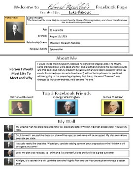Facebook Page for Biographies!
