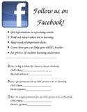 Facebook Permission Form