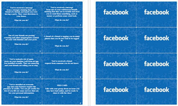 Facebook Privacy Cards