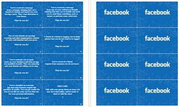 Facebook Privacy Cards