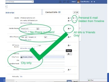 Facebook Privacy and Settings Presentation
