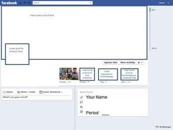 Facebook Profile Book Report