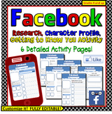 Facebook Profile Character Analysis, Getting to Know You,