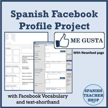 Facebook Profile Spanish Project