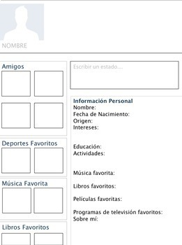 Spanish Facebook Profile Project