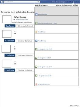Spanish Facebook Profile Project